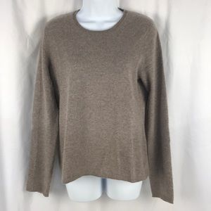 Ellen Tracy Crewneck Cashmere Sweater